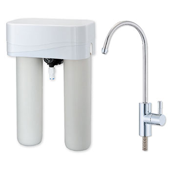 TPR-DW002BD,2 stage Drinking water system w/faucet